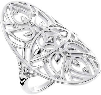 Thomas Sabo Evil Eye Mandala sterling silver and diamond ring