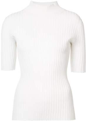 Diane von Furstenberg turtleneck rib top