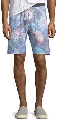 Sol Angeles Men's Floral-Print Knit Shorts