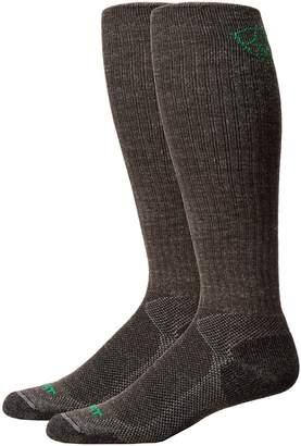 Ariat Over the Calf Hiker Wool Sock Men's Crew Cut Socks Shoes