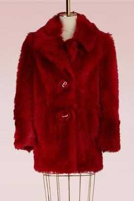 Prada Sheep fur coat