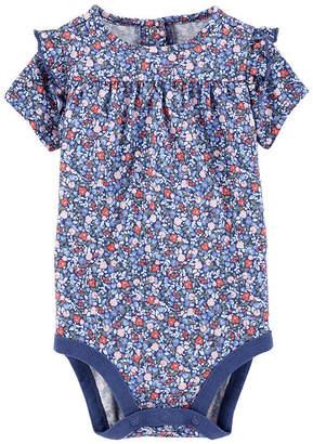 Osh Kosh Oshkosh Ruffle Floral Bodysuit - Baby