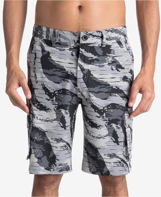 Quiksilver Men's Offshore Printed Amphibian Hybrid Shorts
