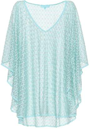 Melissa Odabash Madison knit kaftan top