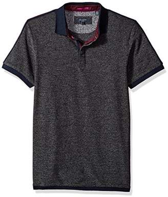 Ted Baker Men's Danby Modern Slim Fit Ss Stripe Detail Polo