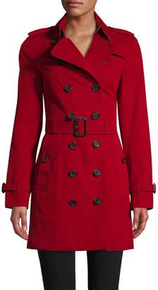 Burberry Women's Belted Trench Cotton