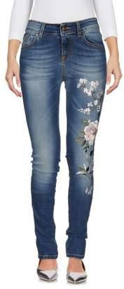 Peacock Blue Denim trousers
