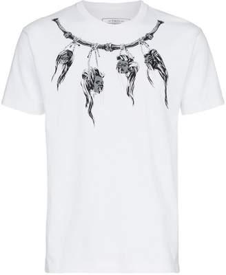 Neighborhood white short sleeve shrunken heads print t-shirt
