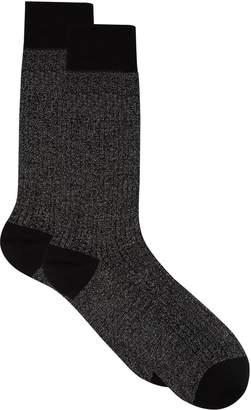 Pantherella Metallic Ribbed Socks