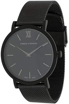 Larsson & Jennings LJXII Lugano Milanese 40mm watch