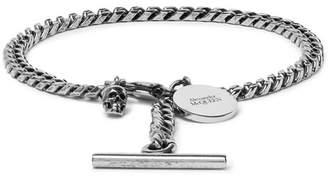 Alexander McQueen Gunmetal-Tone Bracelet
