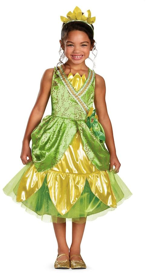 Disney Princess Tiana Deluxe Sparkle Costume - Toddler/Kids