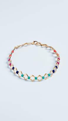 Lee Holst + Color Wheel Choker Necklace