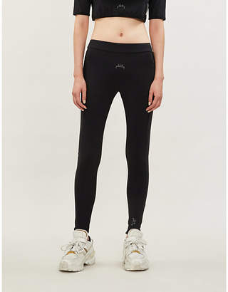 A-Cold-Wall* High-rise logo-print stretch-jersey leggings