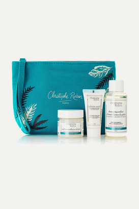 Christophe Robin Detox Hair Ritual Travel Kit - one size