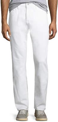 AG Jeans Men's Everett Slim-Straight Jeans in White