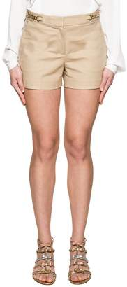 Michael Kors (マイケル コース) - Beige Gabardine Shorts