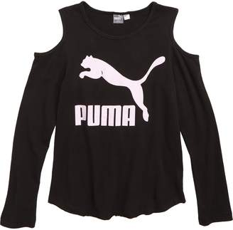 Puma Cold Shoulder Tee