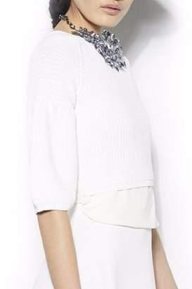 Gracia Ribbed Sweater