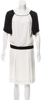 Chloé Short Sleeve Midi Dress
