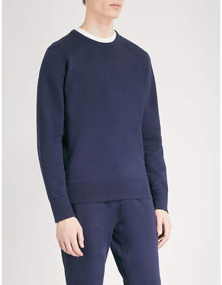Richard James Crewneck cotton-jersey jumper