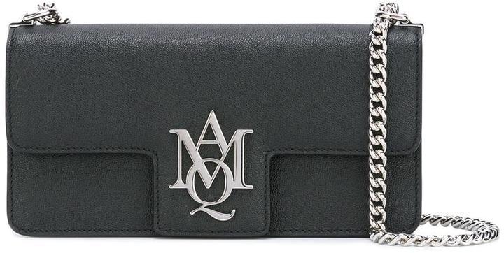 Alexander McQueenAlexander McQueen 'Insignia' clutch satchel