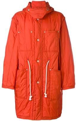 Maison Margiela loose fitted parka coat