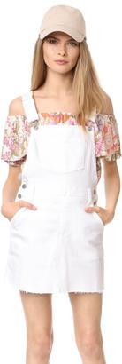 AG Kaitlin Overall Dress $235 thestylecure.com