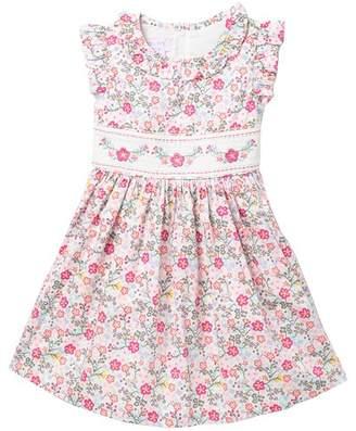 1ac14ceed85e Iris   Ivy Ruffle Sleeve Smoked Dress (Toddler Girls)