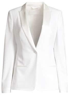 BOSS Women's Jaxtiny Tux Stretch Jacket - Vanilla Light - Size 0