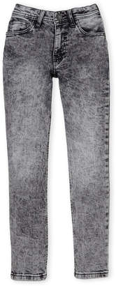 Buffalo David Bitton Boys 8-20) Black Acid Wash Skinny Jeans