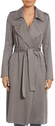 Badgley Mischka Angelina Belted Trench Coat