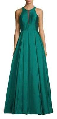 Aidan Mattox Sleeveless Ball Gown