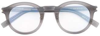 Saint Laurent Eyewear round frame optical glasses