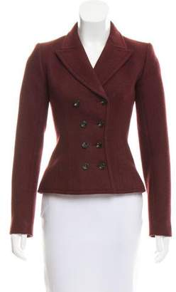 Alaia Wool Double-Breasted Jacket