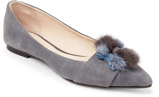 Anna Baiguera Annelucie Pointed Toe Bow Flats