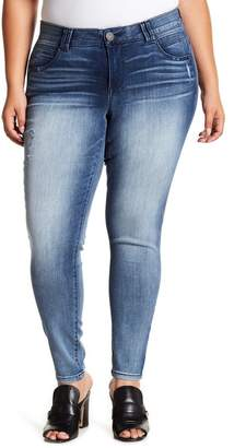 Democracy Tummy Control Luxe Skinny Jeans (Plus Size)