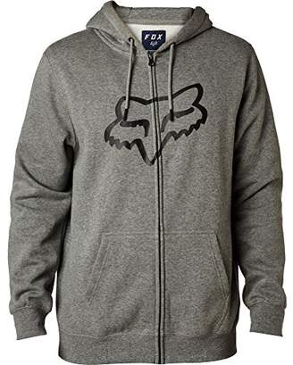 Fox Men's Standard Fit Legacy Logo Zip Hooded Sweatshirt