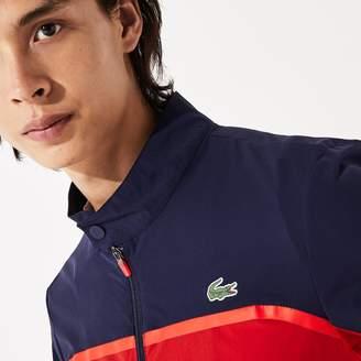 Lacoste Men's SPORT Color-Blocked Lightweight Stretch Zip Jacket