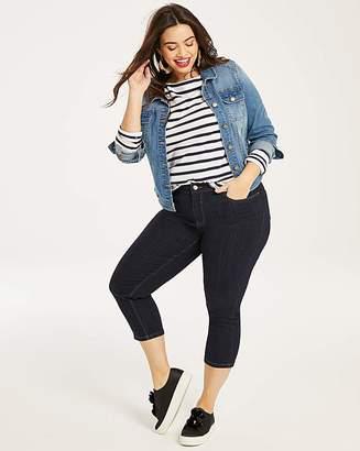 Fashion World Indigo Everyday Crop Jeans