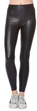 David Lerner Mid-Rise Stitched Leggings