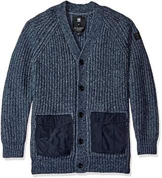 G Star Men's Rovic Heavy Cardigan Sweater