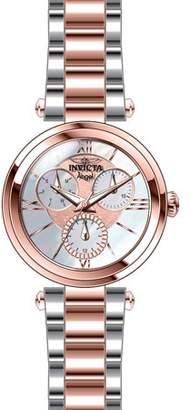 Invicta Women's Angel Quartz Chrono 100m Two Tone Stainless Steel Watch 28932