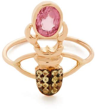 Rosegold Daniela Villegas Rose-Gold Khepri Ring