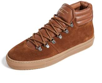 Zespà Suede Hiker Sneakers