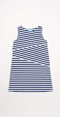 J.Mclaughlin Girls' Nicola Sleeveless Dress in Bangle Stripe
