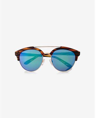 Express retro brow bar sunglasses $29 thestylecure.com