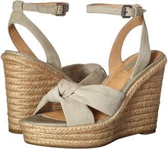 Frye Charlotte Twist Ankle Sandal Women's Wedge Shoes