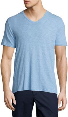 ATM Anthony Thomas Melillo Slub Jersey V-Neck T-Shirt