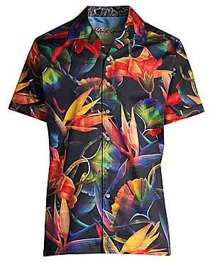 Robert Graham Men's Classic-Fit Floral Print Shirt